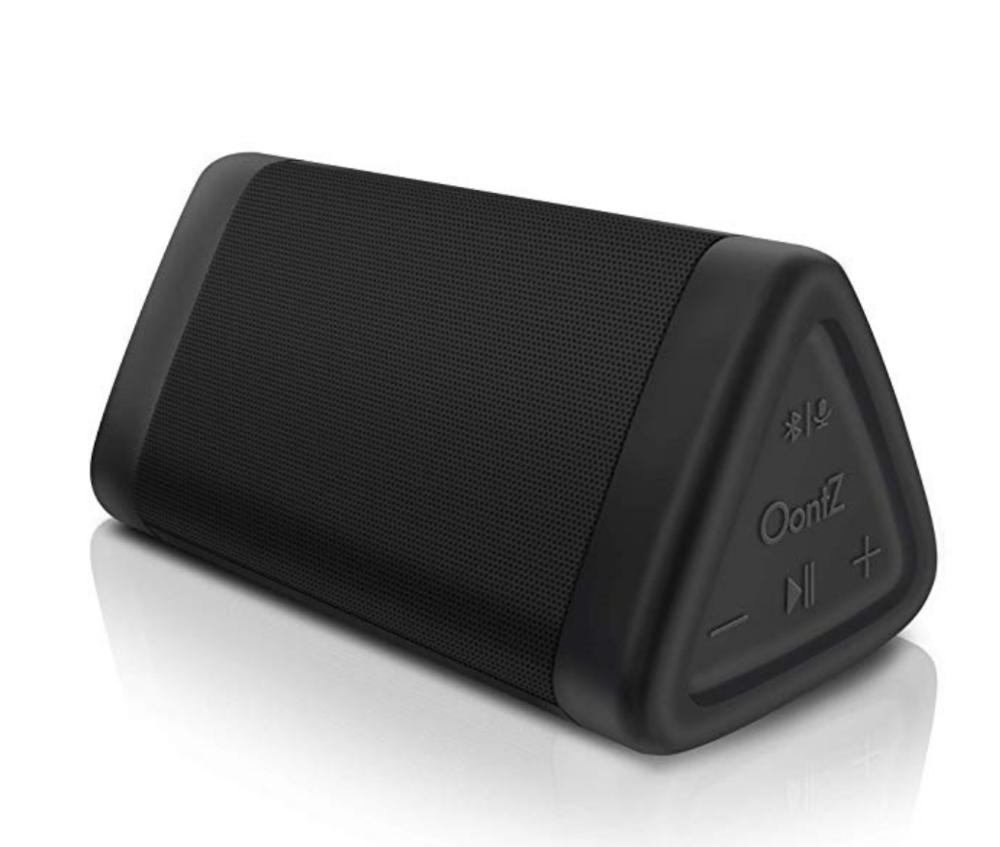 8. Splashproof Portable Bluetooth Speaker