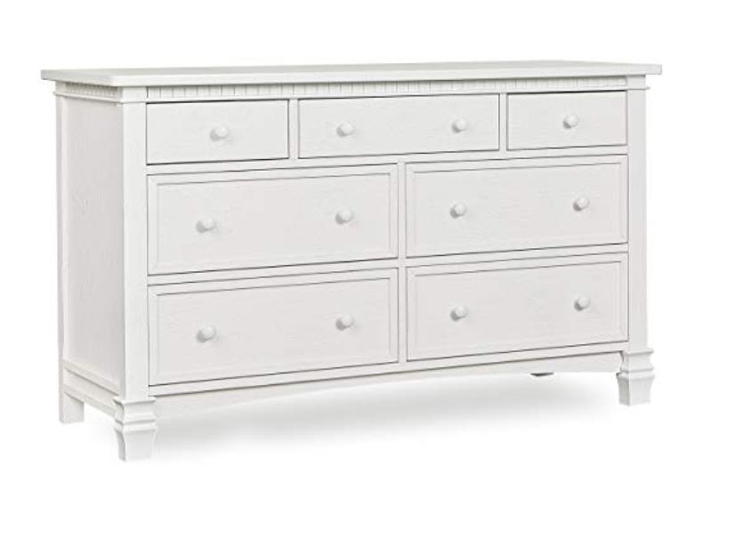 Double Dresser, Brush White