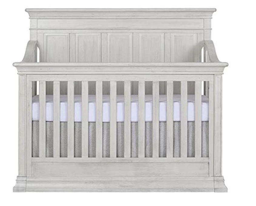 Convertible Crib, Antique Grey