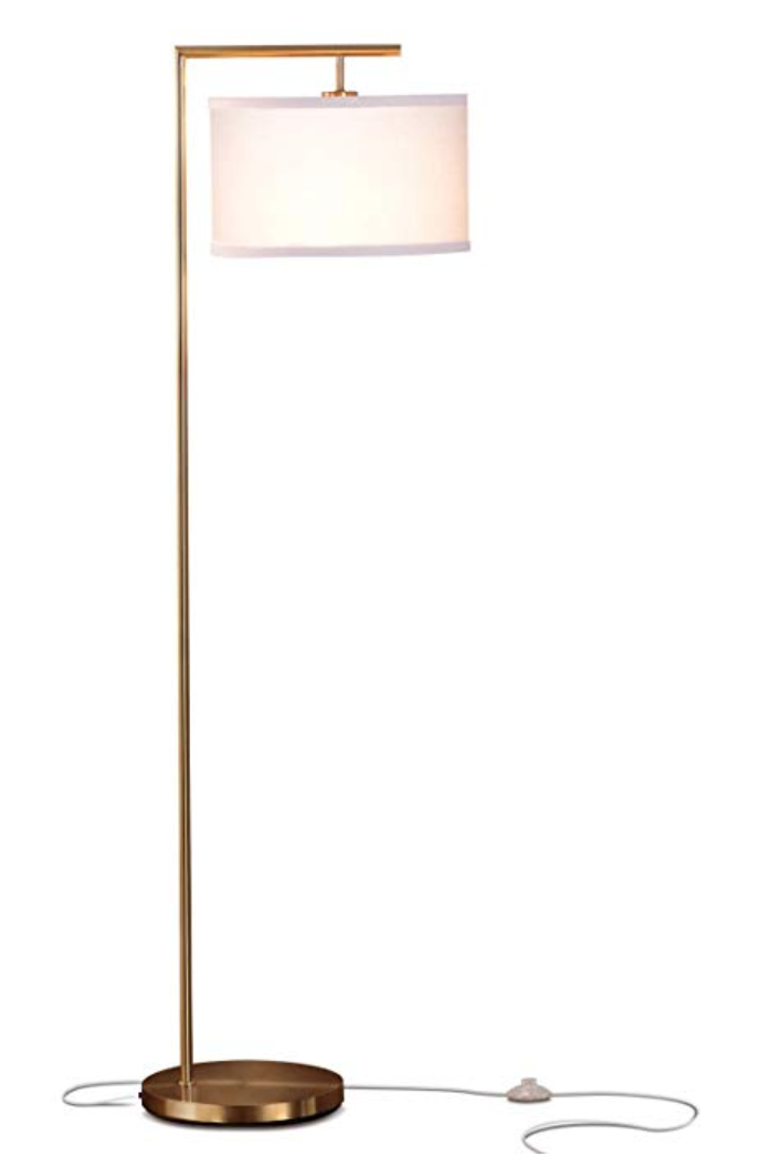 Gold Floor Lamp
