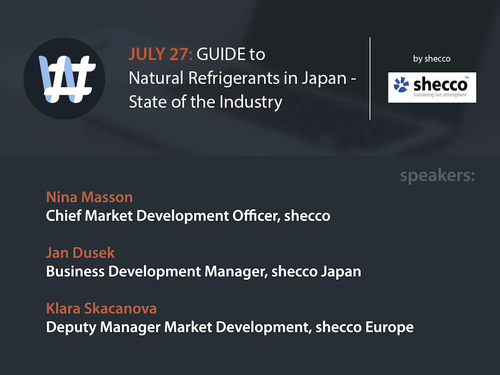 2016-07-27: GUIDE to Natural Refrigerants in Japan - State of the Industry (presentation slides)