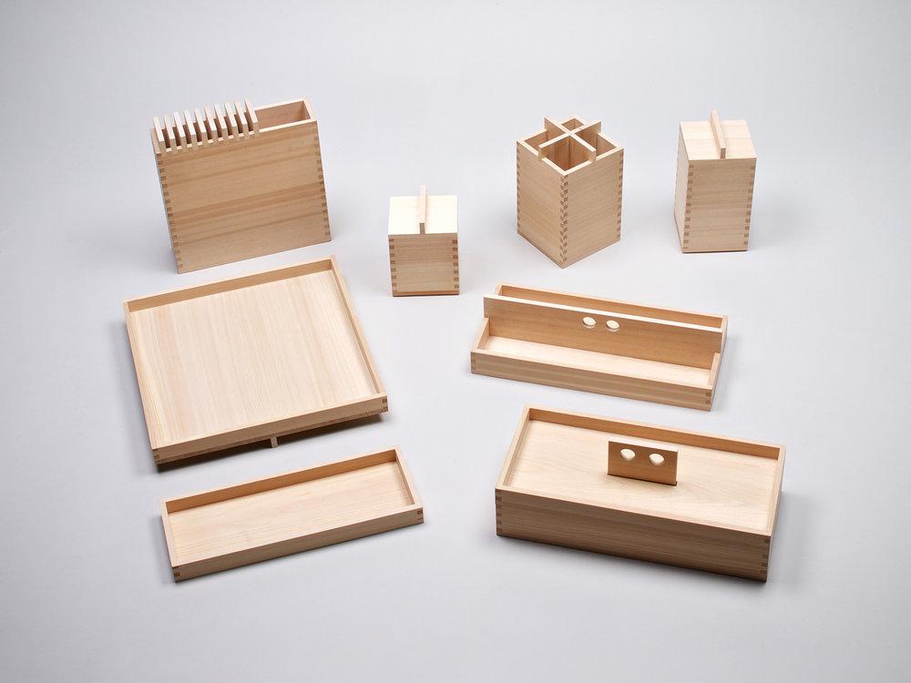 Ohashi Ryoki (Hinoki storage collection)