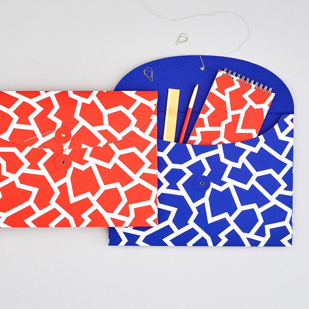 Organiser Envelopes from Wrap designed by Leta Sobierajski