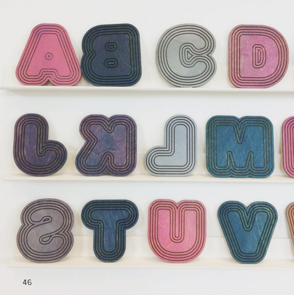 Letterpress font by Rose Walker