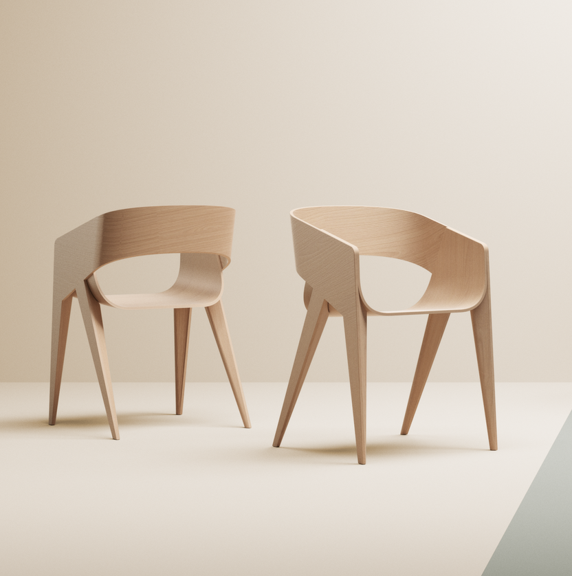 SLIM Chair by Marco Sousa Santos
