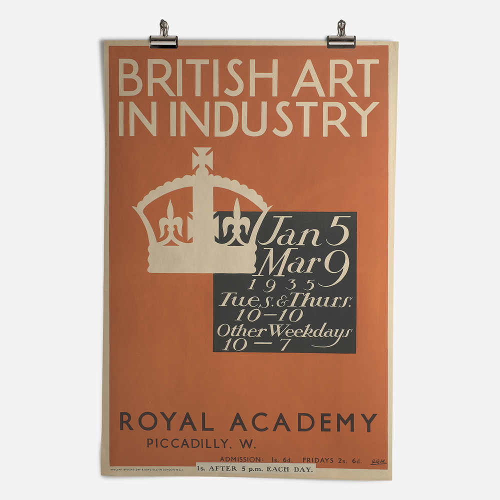 RA British Art in Industry Exhibition 1935