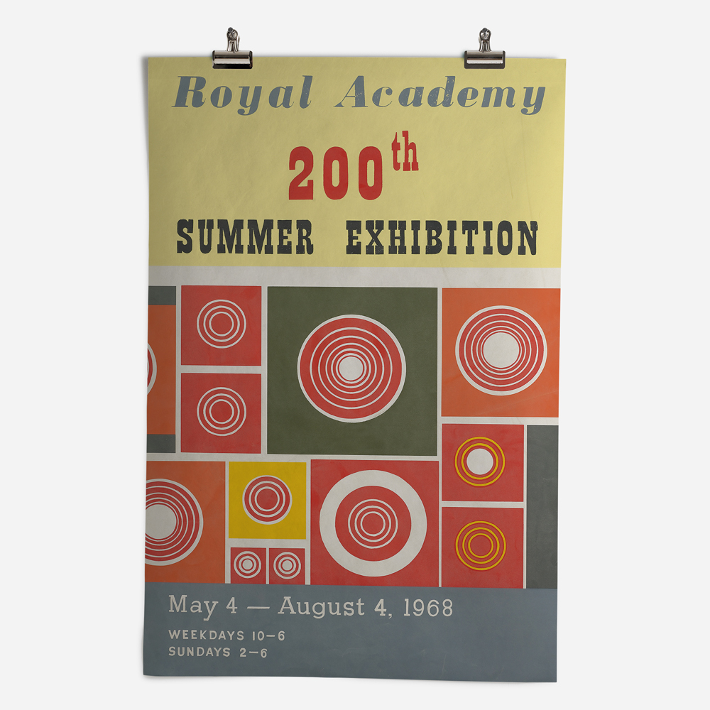 RA Summer Exhibition 1968