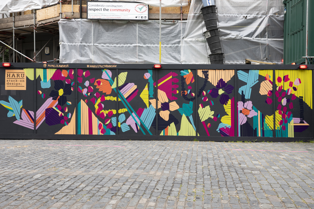 Aurélie Andrès Installation by St John's Gate