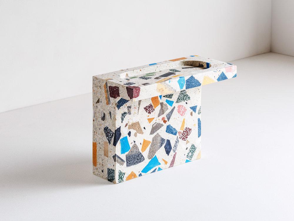 Terrazzo Side Table by Huguet Mallorca at London Design Fair.jpg