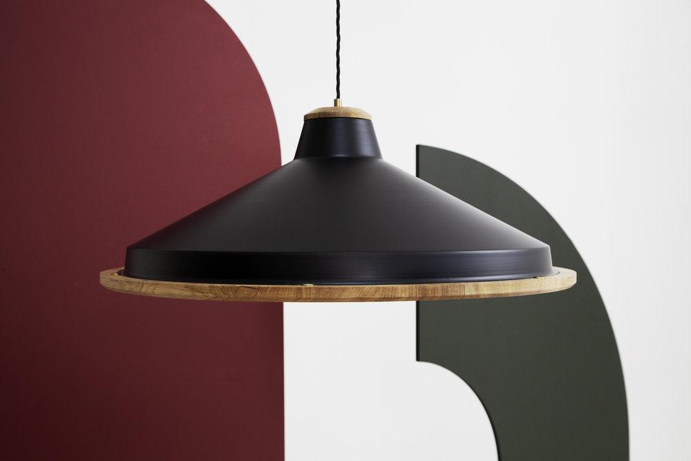 Oak Trafford Pendant Lamp