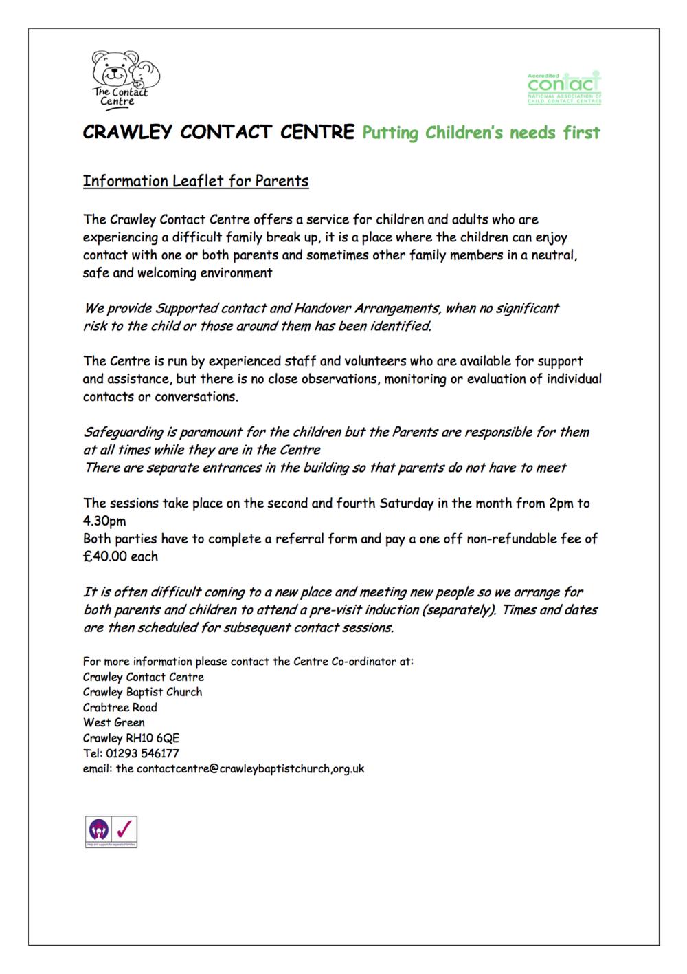 Contact Centre Parents Leaflet revised.png
