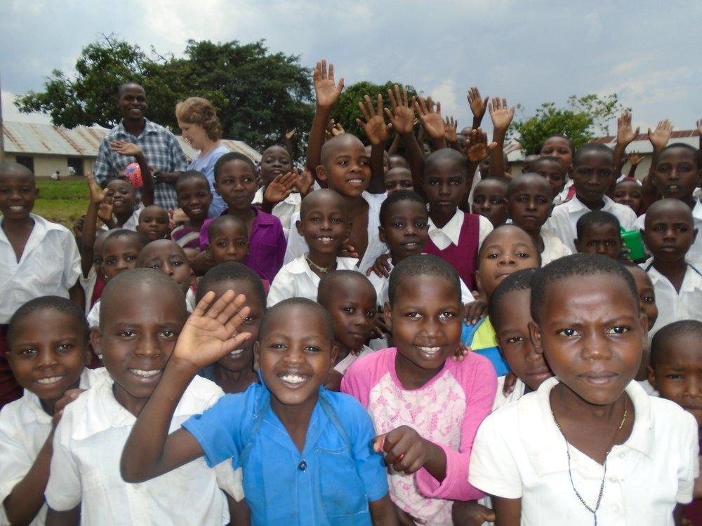Burama Primary School pupils.jpg