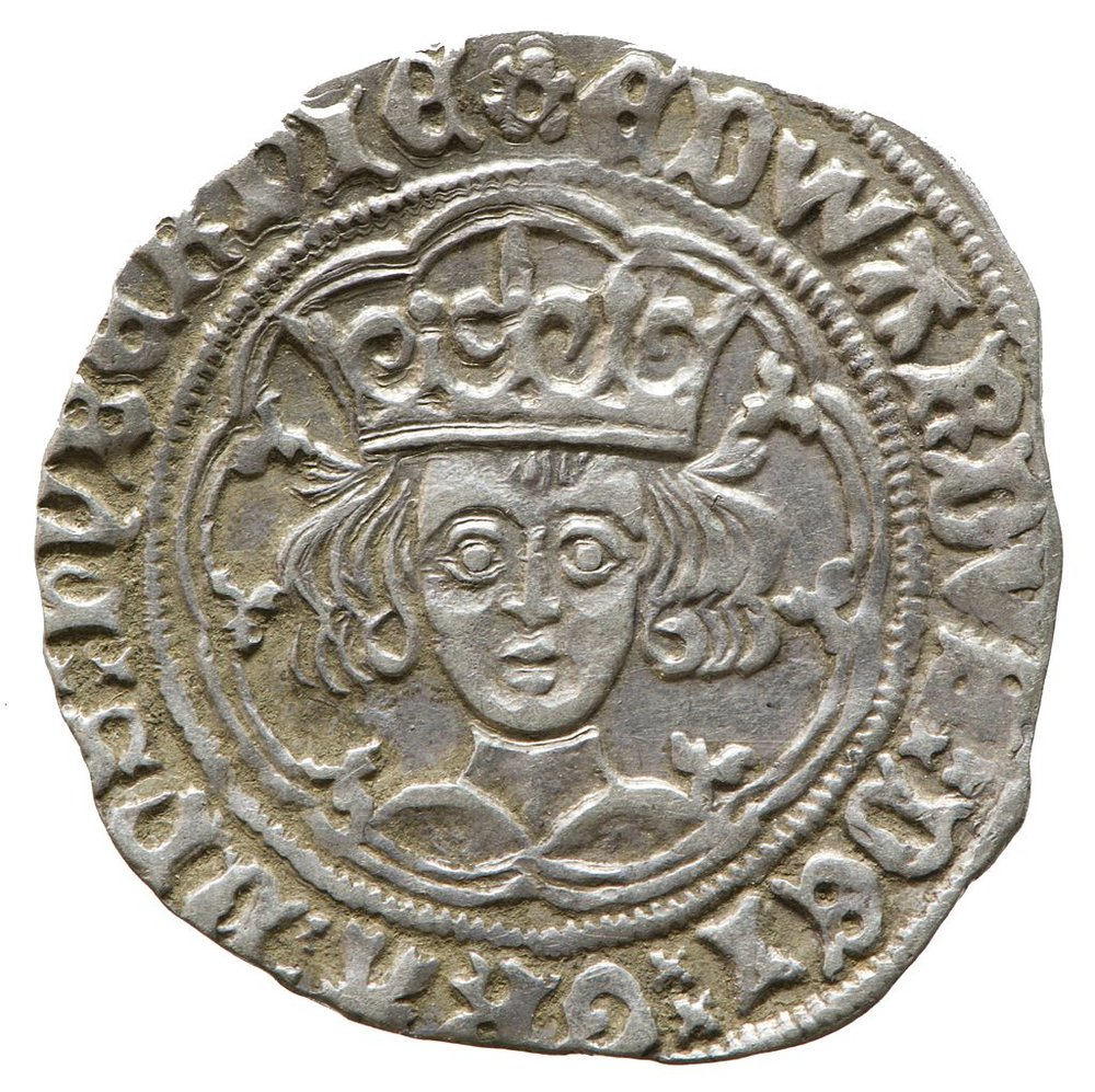 groat of edward iv showing beautiful detail that can often get lost using traditional display methods.  a collidercase system can bring all these elements to life and use them to tell the fascinating stories hiding behind such small, but SIGNIFICANT items.    image: York Museums Trust [CC BY-SA 4.0 ] via WIKImedia