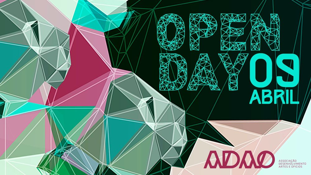 "A.D.A.O - Associação Desenvolvimento Artes E Ofícios OPEN DAY - 09 April, 2016  Showcase,   SYMBIOSIS    "" Faces or Urban Decay ""  Room: 15 - 16:00H - 00:00H."