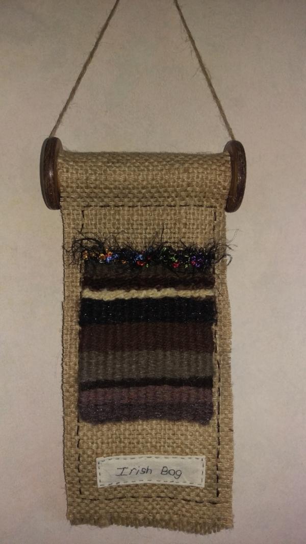 rebecca denley - irish bog wall hanging