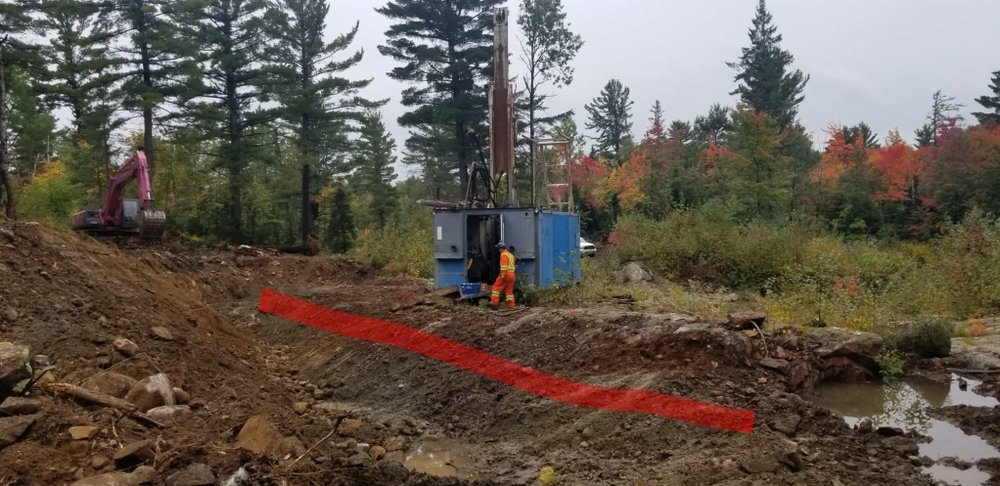 Oct 2018 Drilling at 007 Zone