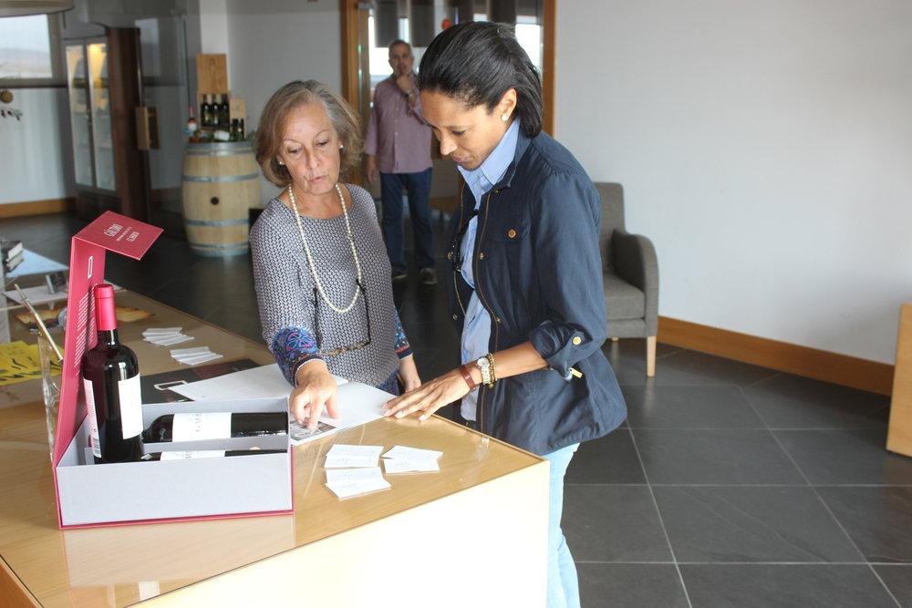 public relations director, anabela pinheiro of ribafreixo