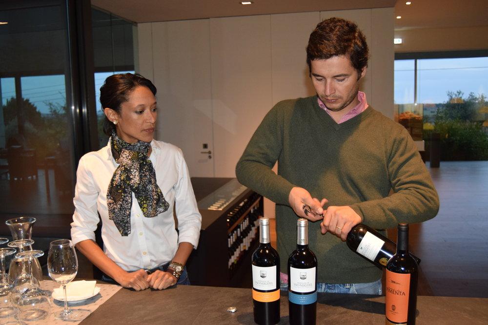 gen. manager & Winemaker Alexandre relvas of herdade såo miguel