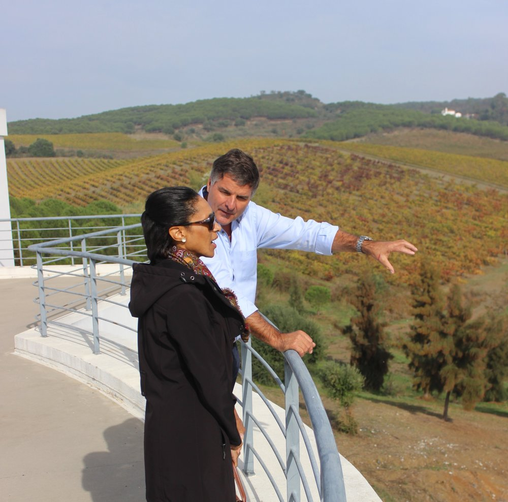 gen. manager reto Jorg of quinta do quetzal