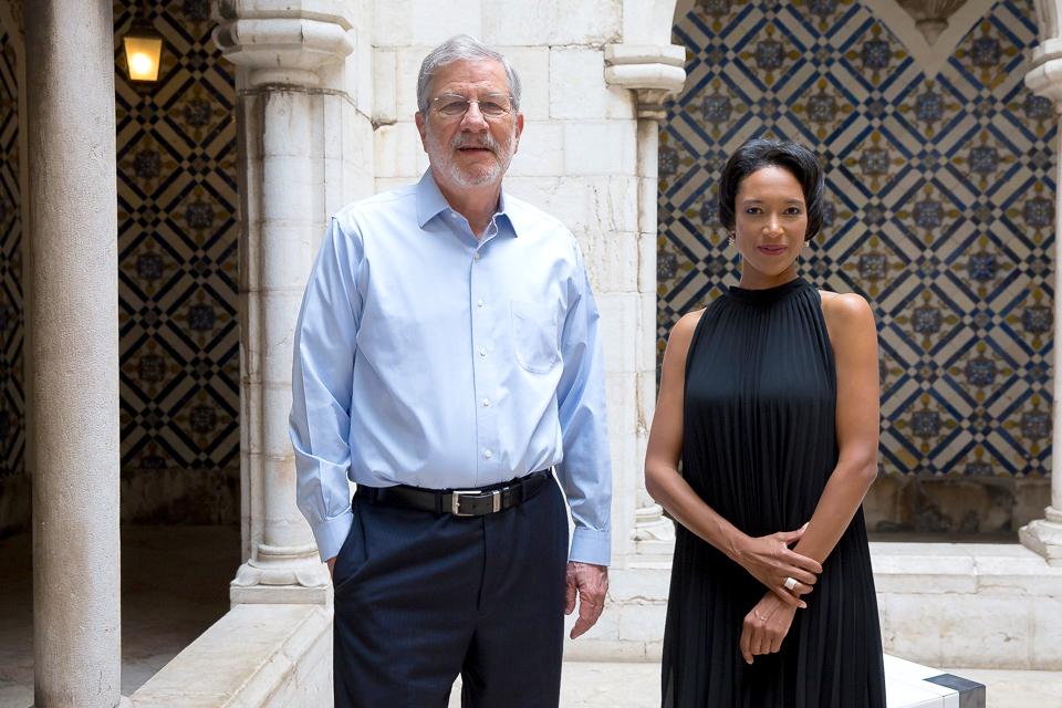 Ambassador Allan J. Katz (ret.) and Sheree M. Mitchell at the National Tile Museum in Lisbon. Photographer: Alípio Padilha
