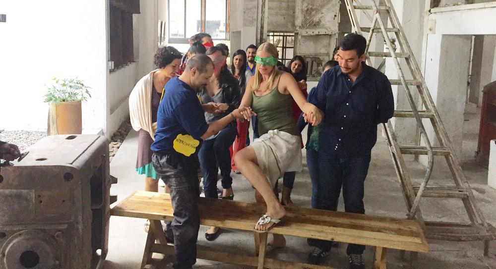 Art of Participatory Leadership Training. Oaxaca, Mexico.