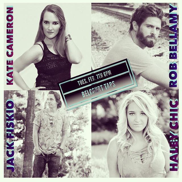 Excited to be a part of this writers round tomorrow night @belcourttaps. 6PM! #hillsborovillage #taps #belcourttaps #nashville #livemusic #acoustic #songwriter #singer #craftbeer #writersround #nashville @kate__cameron @haleychicmusic @jackfiskio