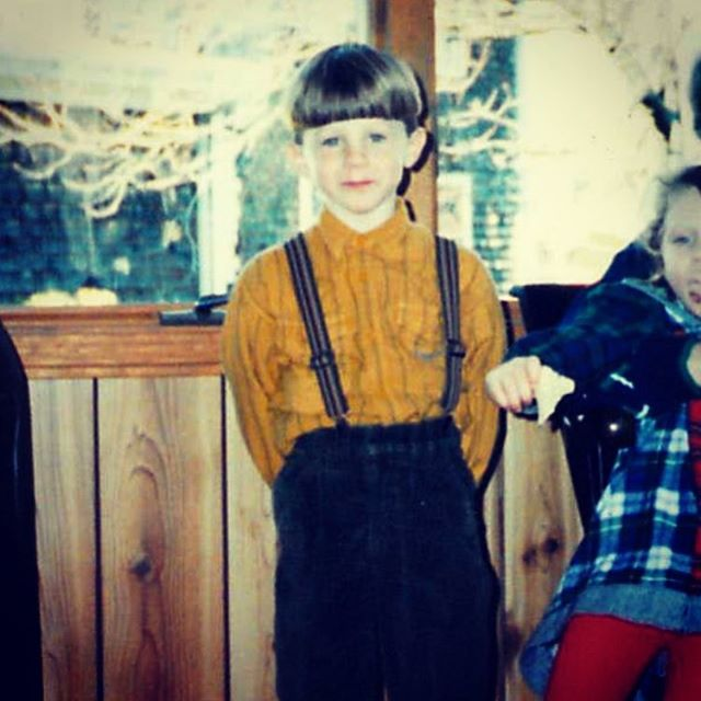 Miss this guy! Way to good. @coreybellamy89 #bowlcuts #suspenders #weapon #youth