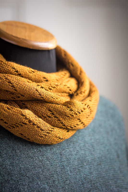 Lacey Silk & Alpaca Scarf from Fine Fettle Fibres