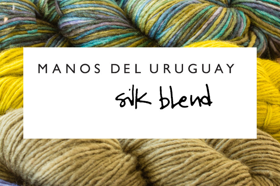 SILK BLEND 70% Extrafine Merino Wool & 30% Silk