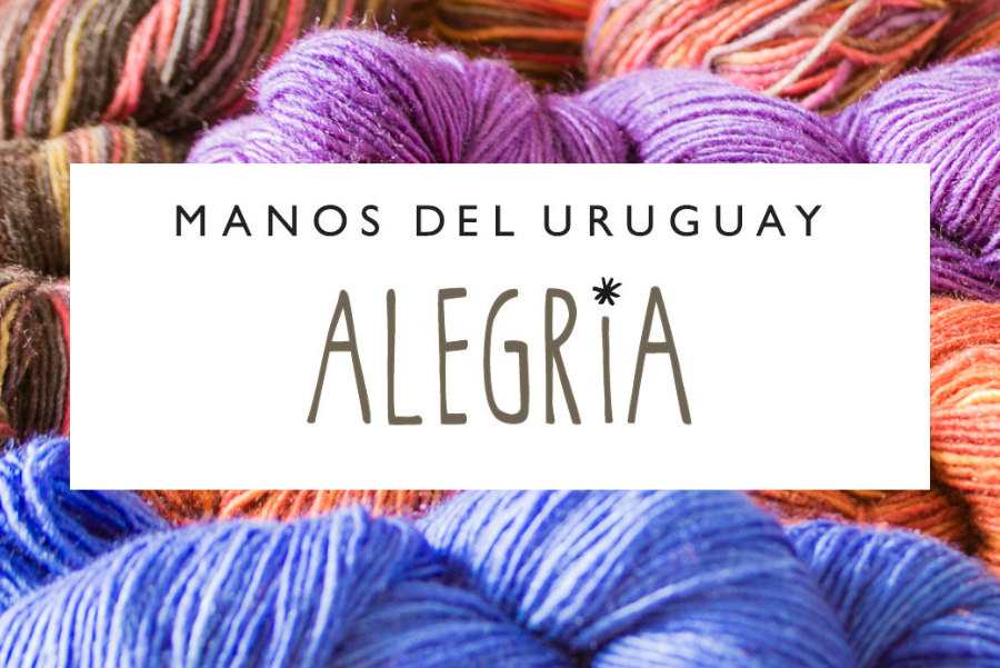 ALEGRIA 75% Superwash Merino 25% Polyamide
