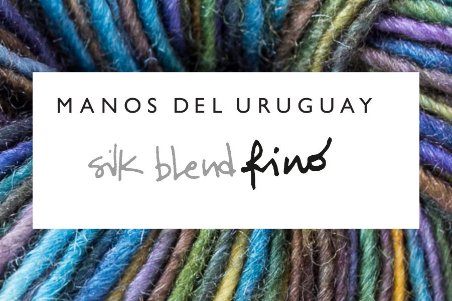 SILK BLEND FINO 70% Extrafine Merino Wool & 30% Silk