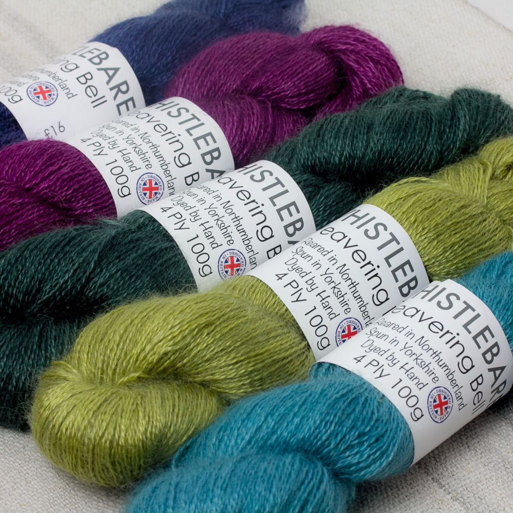 Whistlebare - Hand Dyed Yarn from Northumberland