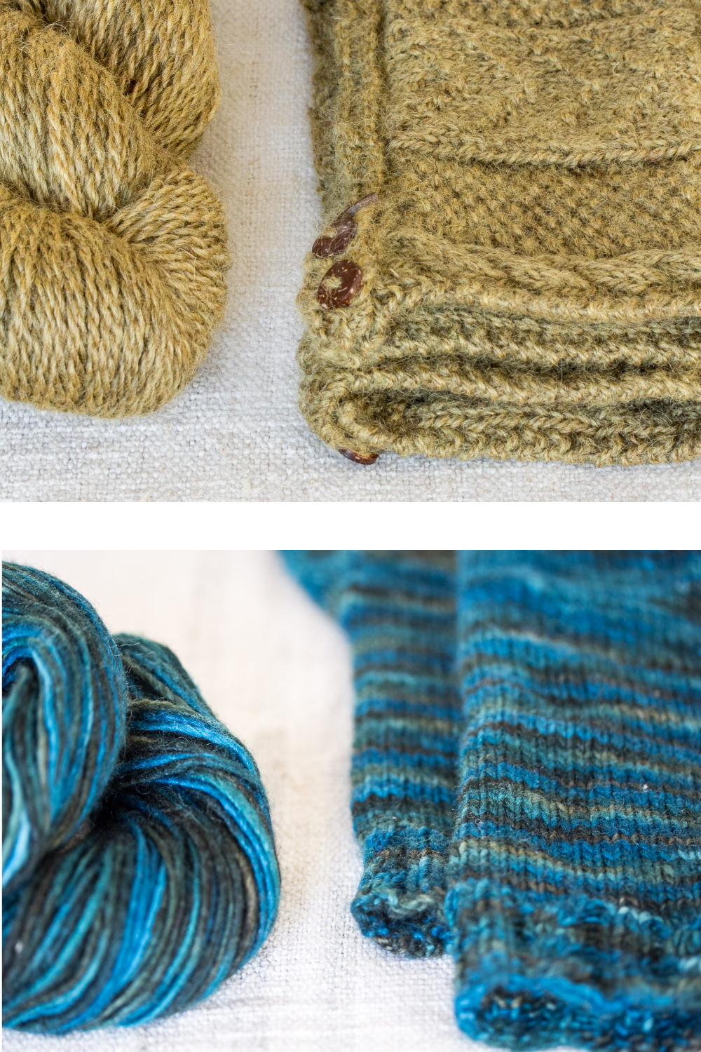 British wool and knitting patterns