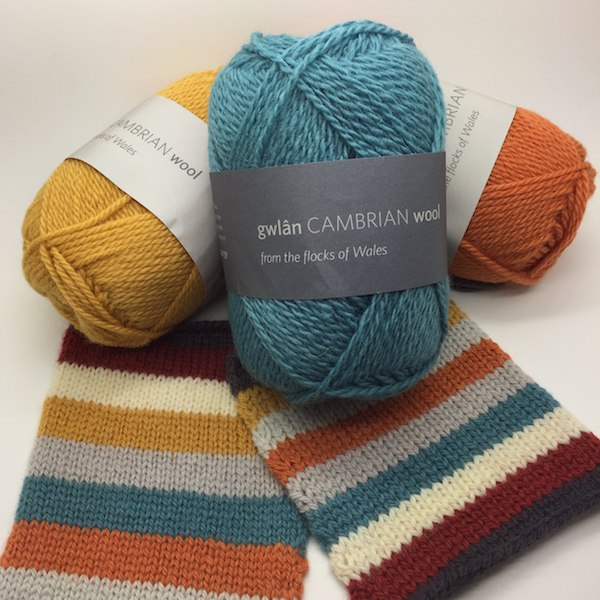 Cambrian Mountain Wool DK and 4ply