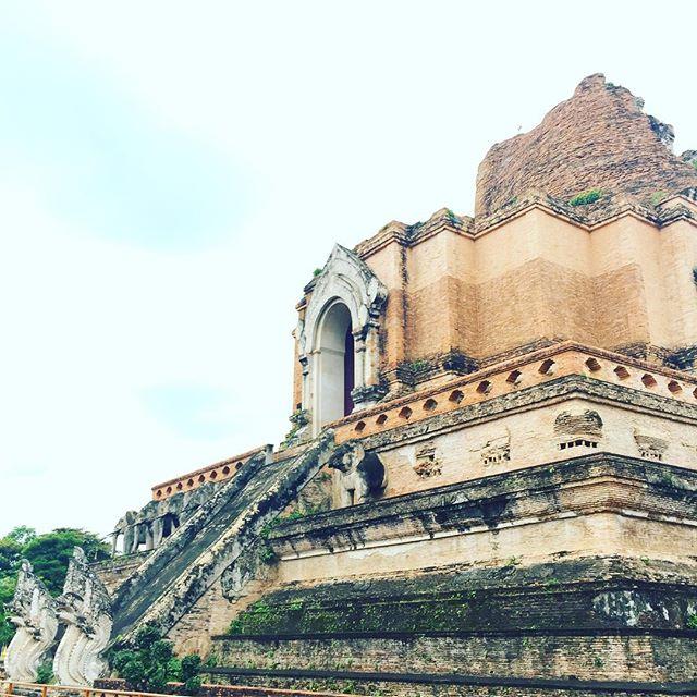 Goodbye Chiang Mai! Until next time! To Bangkok we go! #SanTranTravels #templeruins #buddhism #architecture #chiangmai #travel