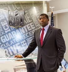 NFL's Senior Director of Junior Football Development.