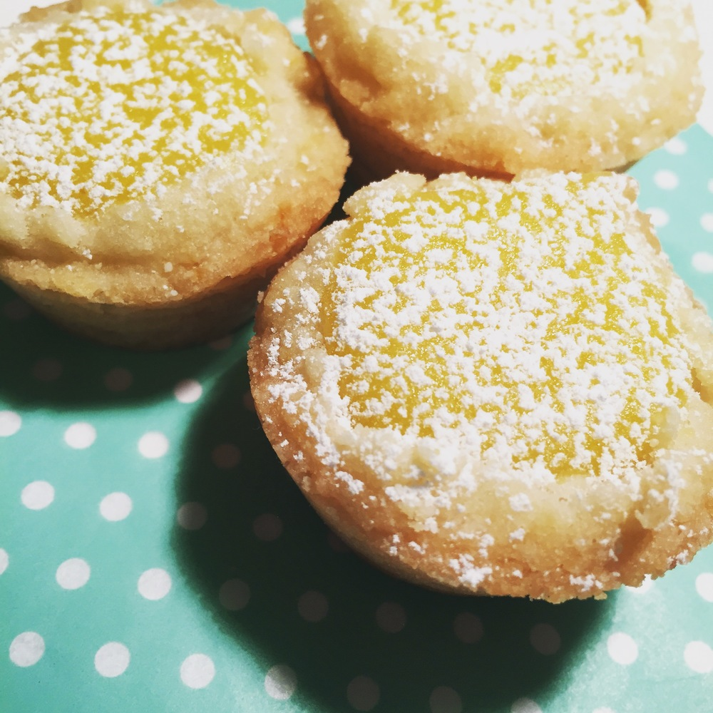 Lemon Bar Cookie Cups