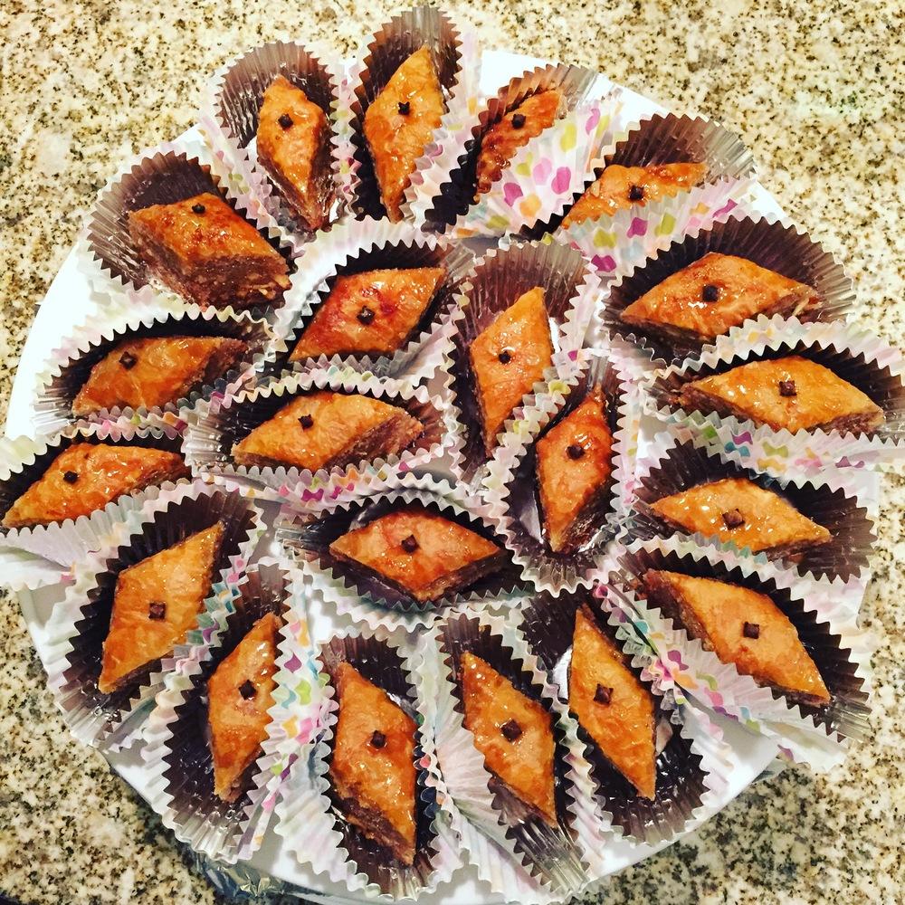 Baklava (walnut)