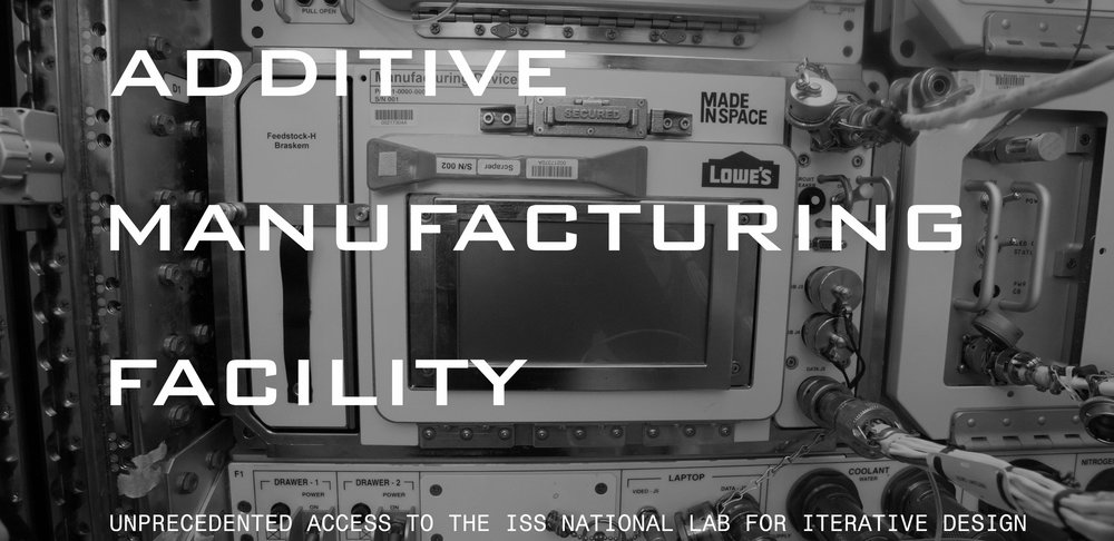 Additive manufacturing facility made in space for Nasa additive manufacturing