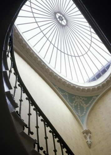 The staircase of The German Historical Institute in Bloomsbury Square