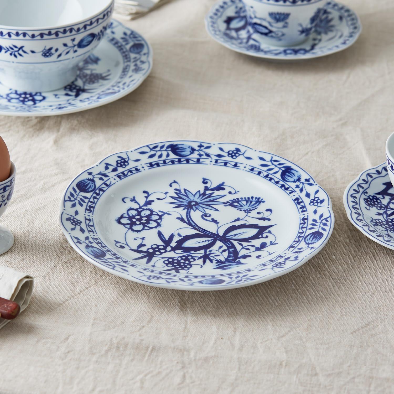 Onion Pattern Breakfast plate ... & Spiero \u2014 Dine-tableware-glassware- porcelain-dining table accesories ...