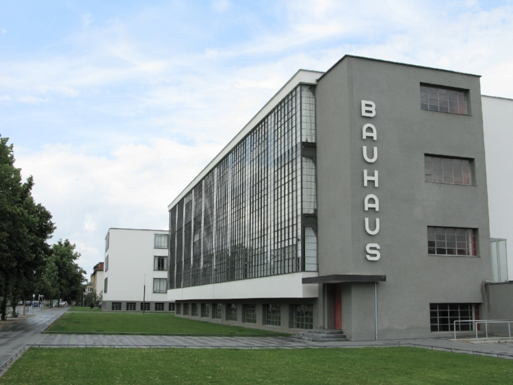 The Bauhaus school in Dessau