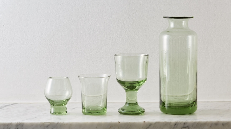 The Forest Glass range by Elias Lauscha