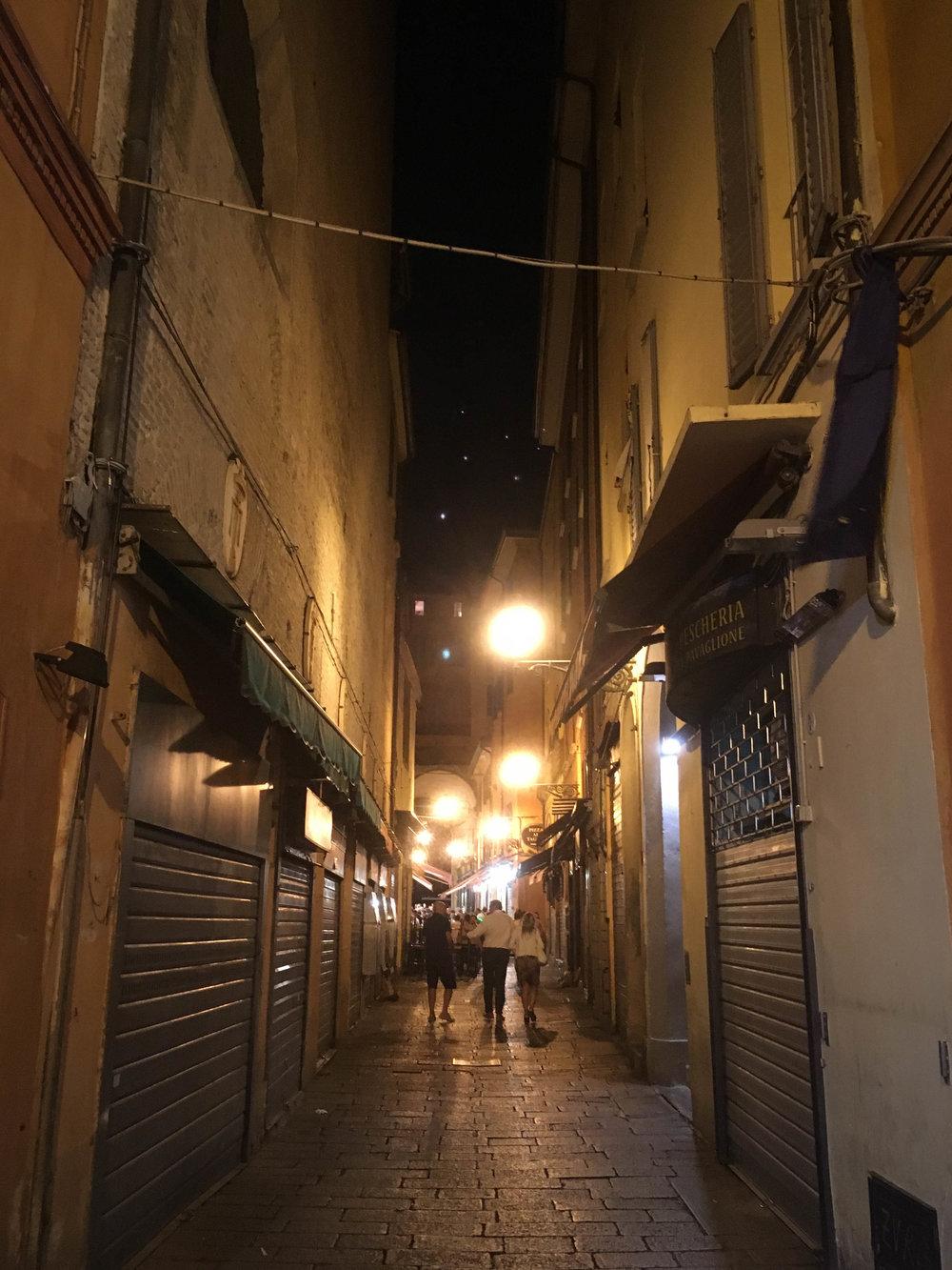 Bye, Bologna. Thanks for the pasta