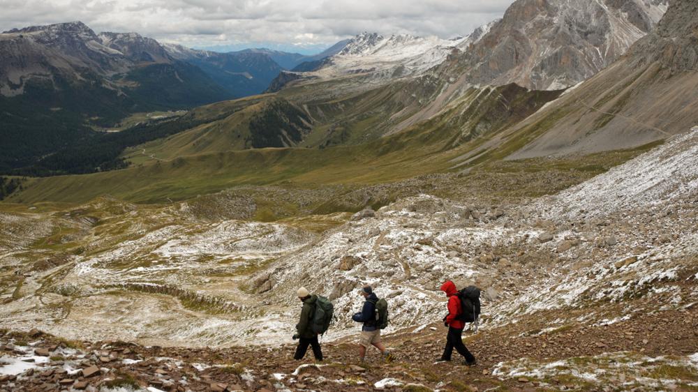 Căutând o locație în munți - Mihai Doarna ©