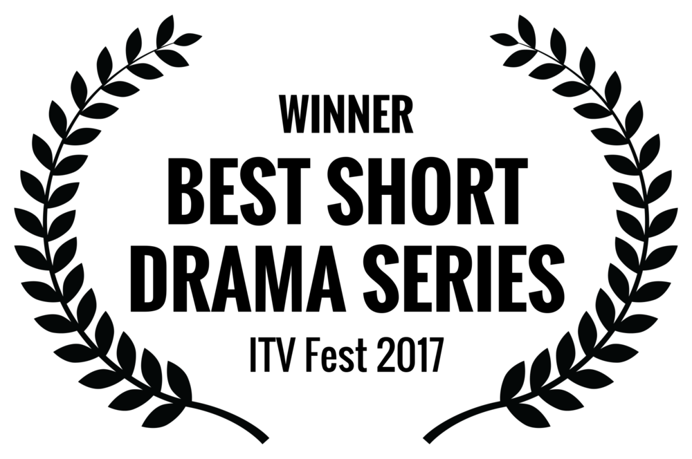 WINNER - BEST SHORT DRAMA SERIES - ITV Fest 2017.png