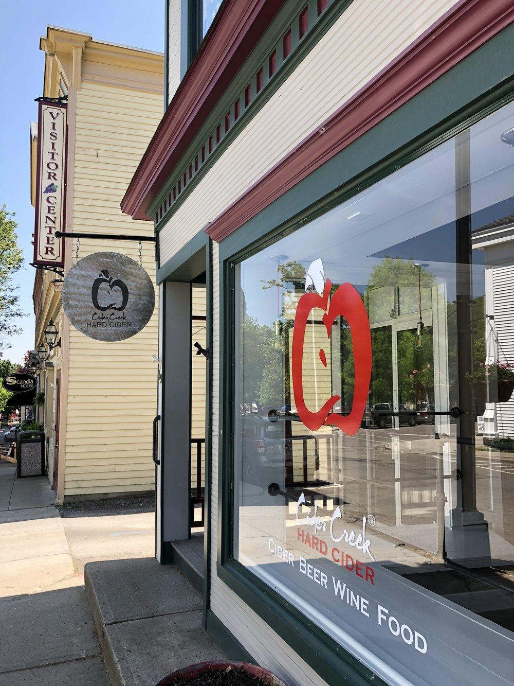 Now open on the village square with extended summer hours well into the evening (noon - 9p).