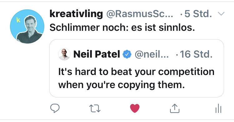 Neil Patel sagt es auf Twitter.png