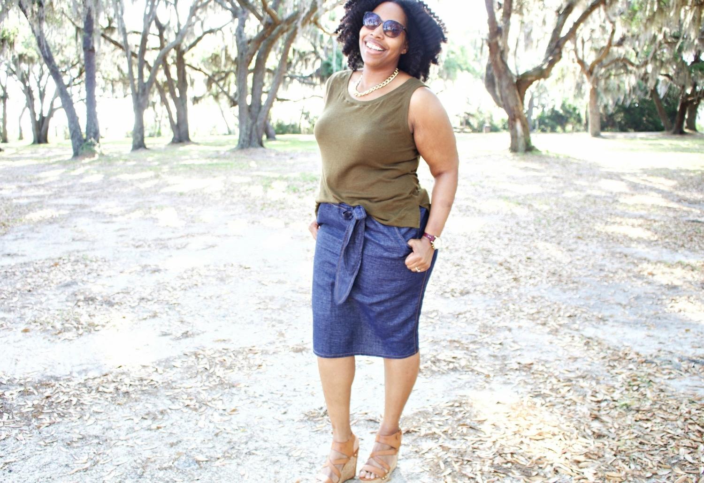 The Weekend Tank and Denim Skirt : Simplicity 1167   Simplicity ...