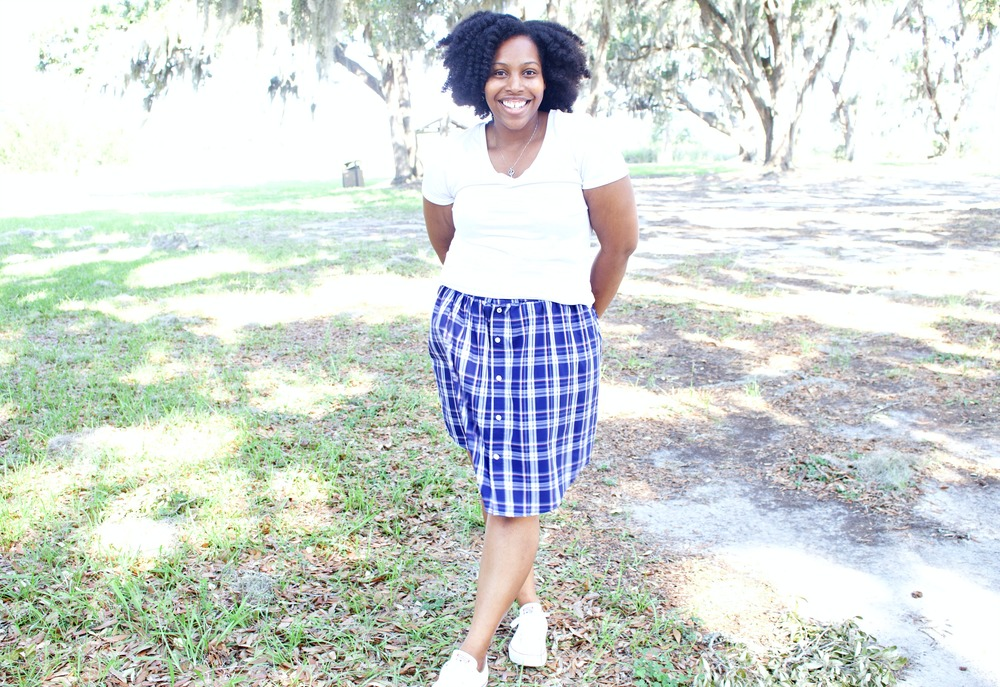 Diy Gathered Skirt No Pattern Easy Sew Brittany J Jones